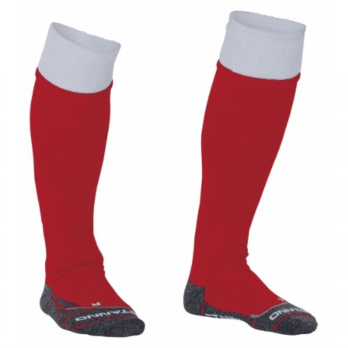 Reece Combi Socks Red/White Unisex Senior
